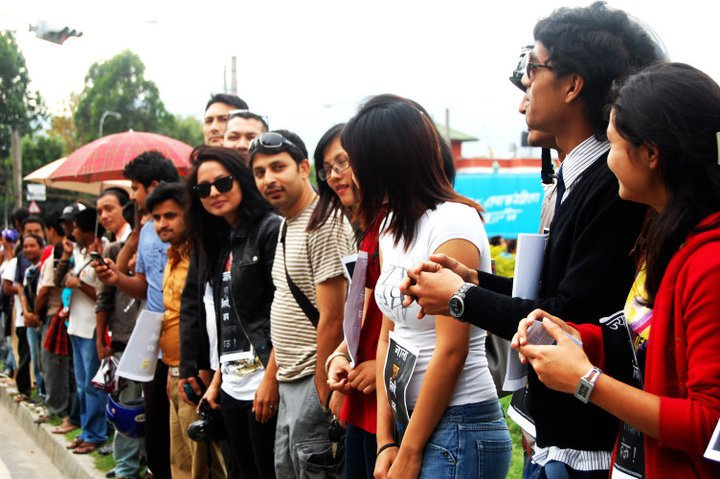 Malvika Subba And Other Miss Nepal At The Event