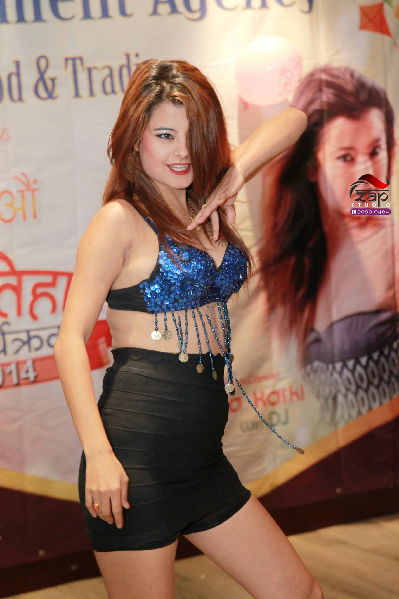 Sushma Karki Hong kong hot dance 1